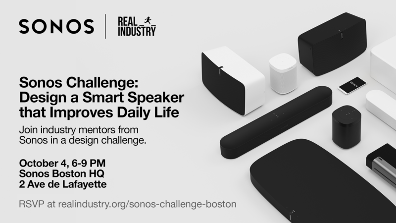 Sonos Challenge: Boston (presented by Real Industry)